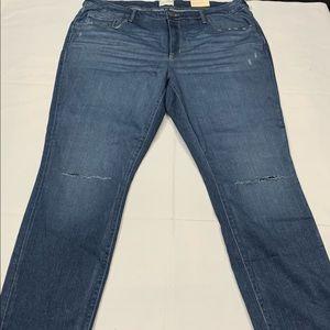 New Universal Thread Skinny Blue Jeans Size 22W